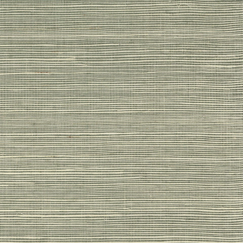 Sisal Grasscloth Wallpaper in Green Mist from the Luxe Retreat Collection by Seabrook Wallcoverings