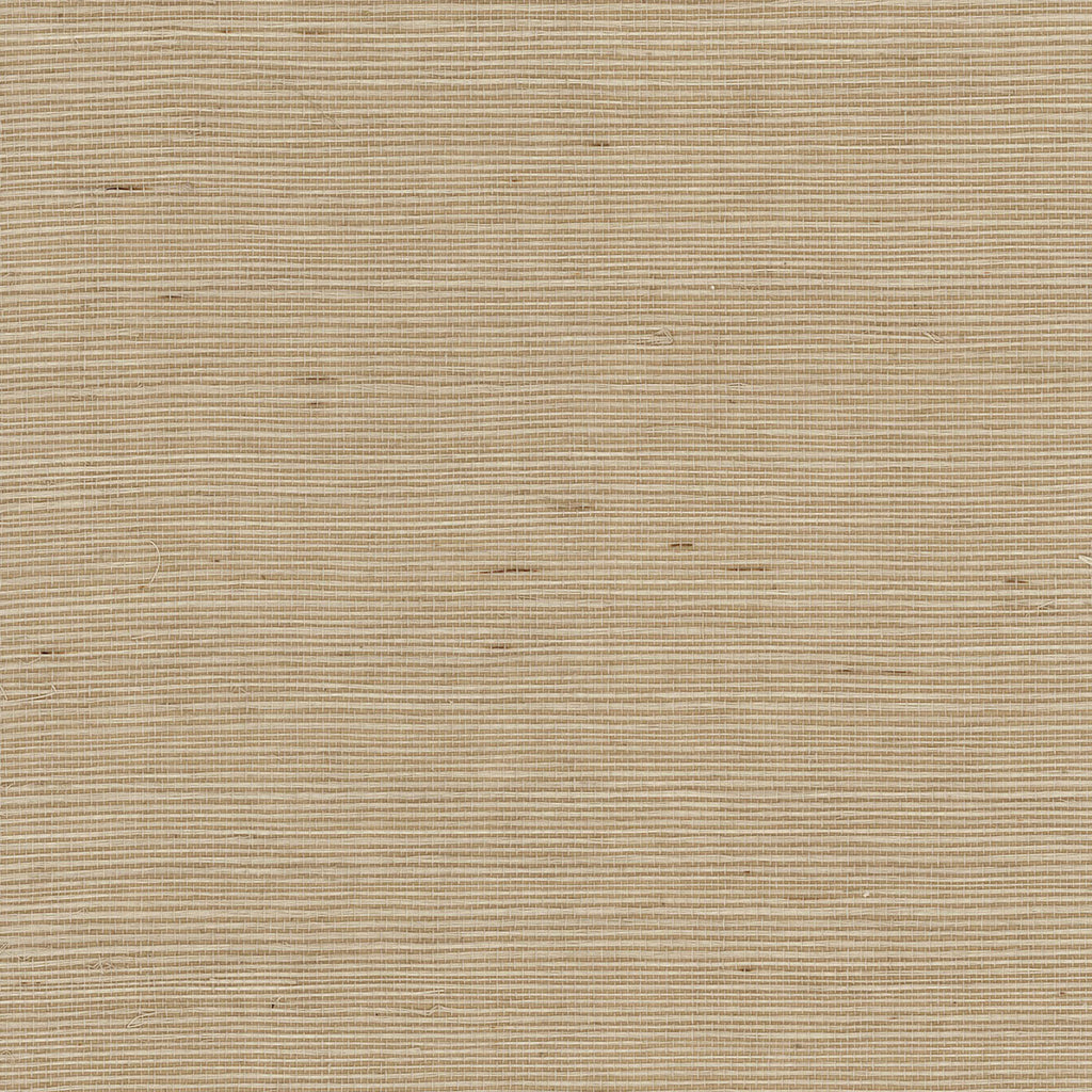 Sisal Grasscloth Wallpaper in Hidden Cove from the Luxe Retreat Collection by Seabrook Wallcoverings