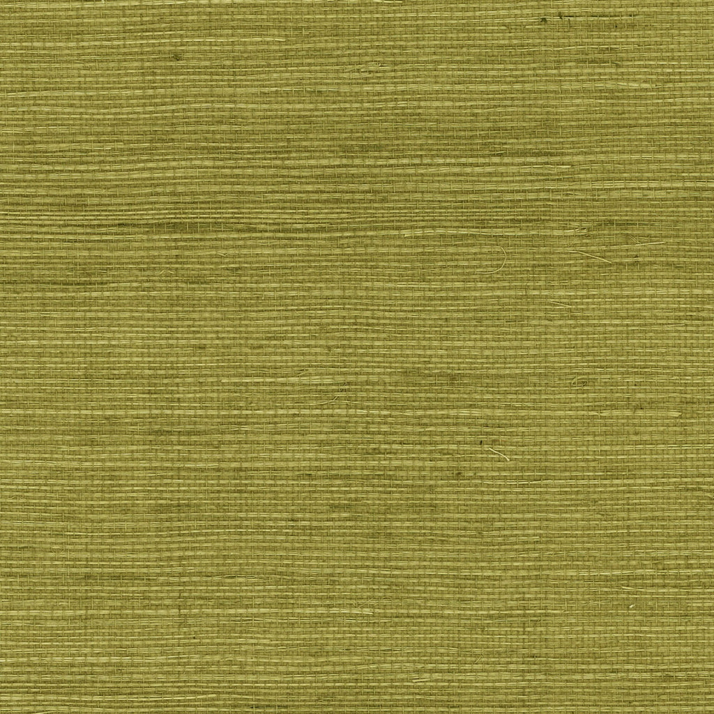 Sisal Grasscloth Wallpaper in Olive from the Luxe Retreat Collection by Seabrook Wallcoverings