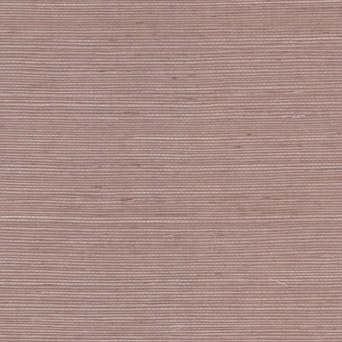 Sisal Grasscloth Wallpaper in Purple Haze from the Luxe Retreat Collection by Seabrook Wallcoverings