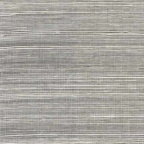 Sample Sisal Grasscloth Wallpaper in Salt and Pepper from the Luxe Retreat Collection by Seabrook Wallcoverings