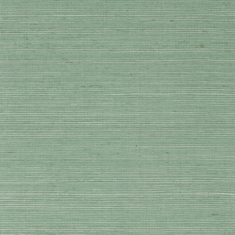 Sisal Grasscloth Wallpaper in Tender Green from the Luxe Retreat Collection by Seabrook Wallcoverings