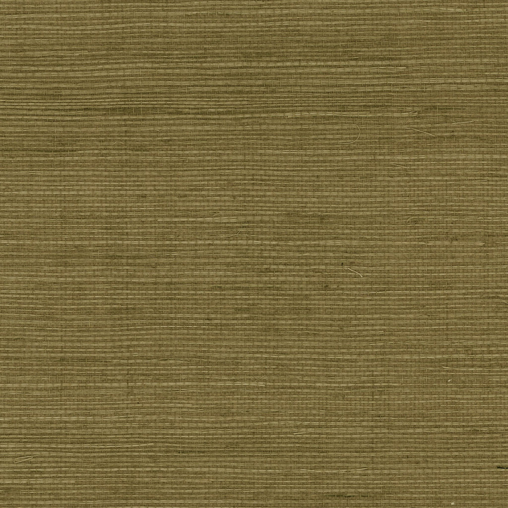 Sisal Grasscloth Wallpaper in Tosca Pear from the Luxe Retreat Collection by Seabrook Wallcoverings