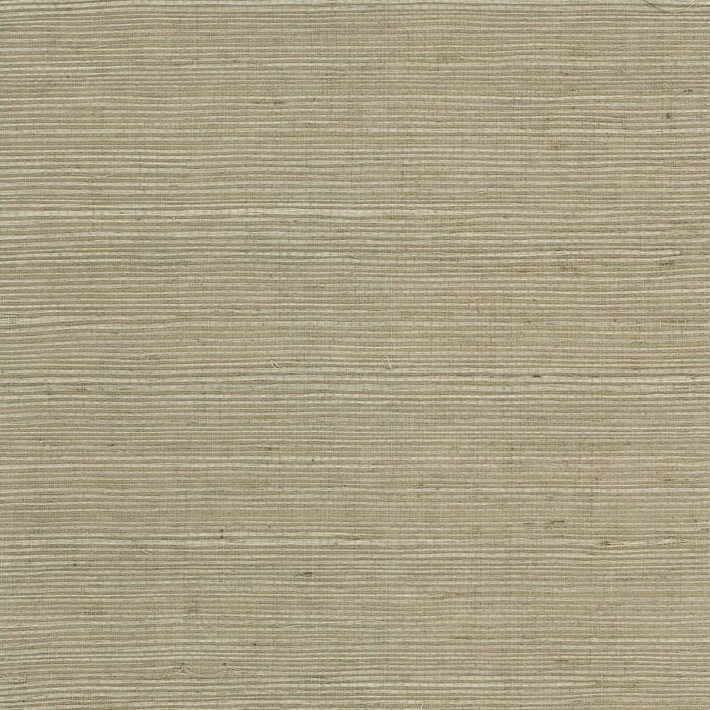 Sisal Grasscloth Wallpaper in Wheat Grass from the Luxe Retreat Collection by Seabrook Wallcoverings