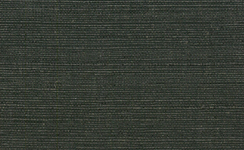 Sample Sisal Grasscloth Wallpaper in Black and Gold design by Seabrook Wallcoverings