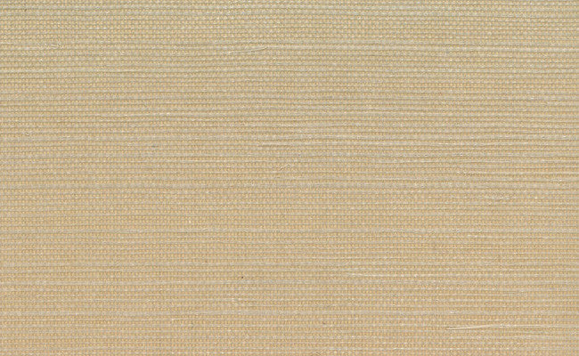 sisal grasscloth wallpaper in light brown design by seabrook