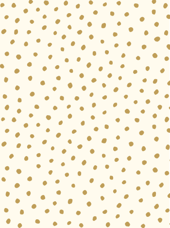 Sample Sisters of the Sun Wallpaper in Gold and Cream design by Juju