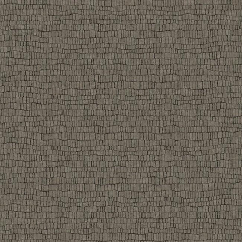 Skin Wallpaper in Black from the Natural Opalescence Collection by Antonina Vella for York Wallcoverings