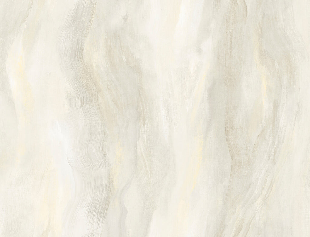 Smoke Texture Embossed Vinyl Wallpaper in White Onyx from the Living With Art Collection by Seabrook Wallcoverings