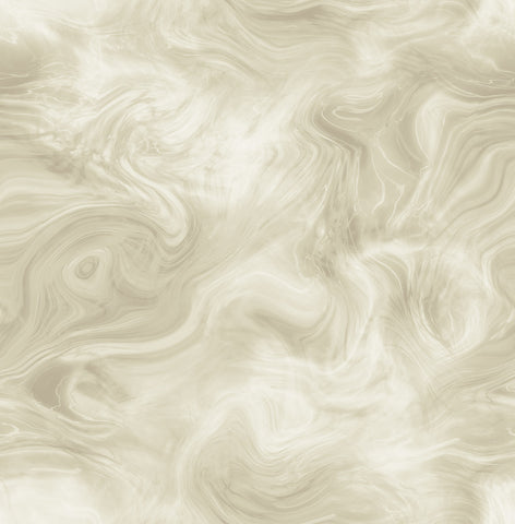 Smoke Wallpaper in Cream and Bronze from the Solaris Collection by Mayflower Wallpaper