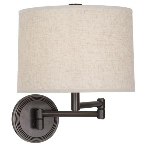 Sofia Collection Swing Arm Sconce design by Robert Abbey