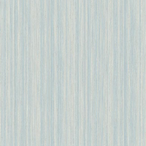 Soft Cascade Wallpaper in Blue and Silver from the Natural Opalescence Collection by Antonina Vella for York Wallcoverings