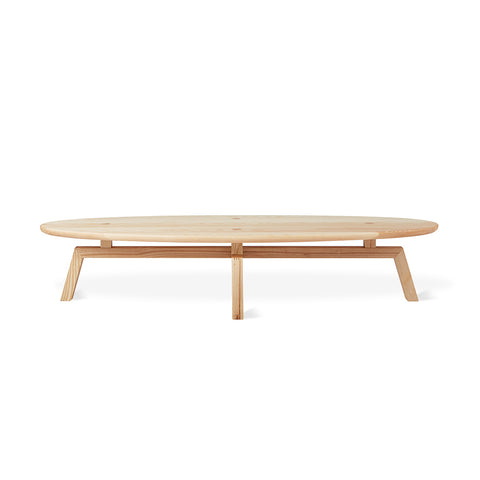 Solana Oval Coffee Table by Gus Modern