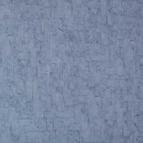Solid Textured Wallpaper in Fog Blue from the Van Gogh Collection by Burke Decor