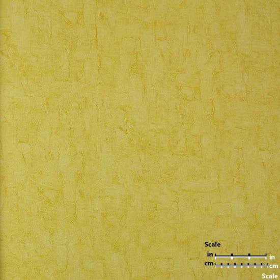 Solid Textured Wallpaper in Pale Yellow from the Van Gogh Collection by Burke Decor