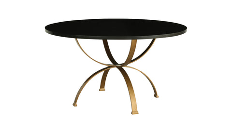 Sophia Round Dining Table in Espresso design by Redford House