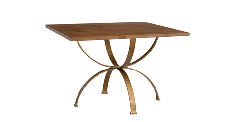 Sophia Square Dining Table in Almond design by Redford House