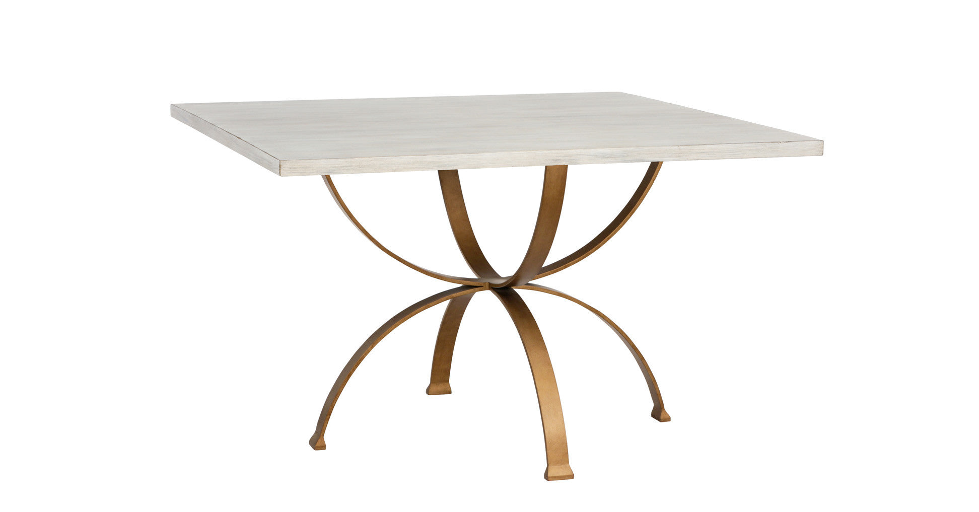 Sophia Square Dining Table In Beachwood Design By Redford House