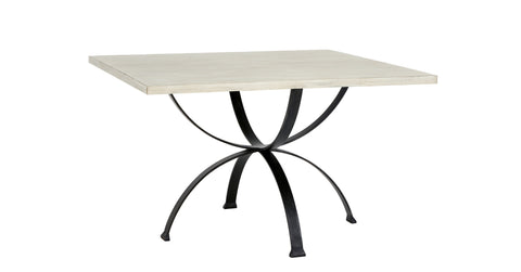 Sophia Square Dining Table in White design by Redford House