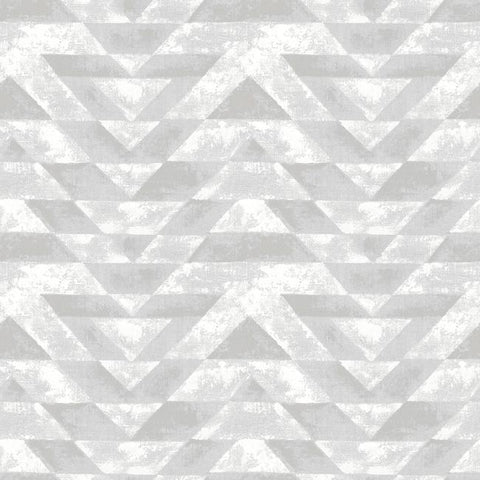 Southwest Geometric Peel & Stick Wallpaper in Neutral by RoomMates for York Wallcoverings
