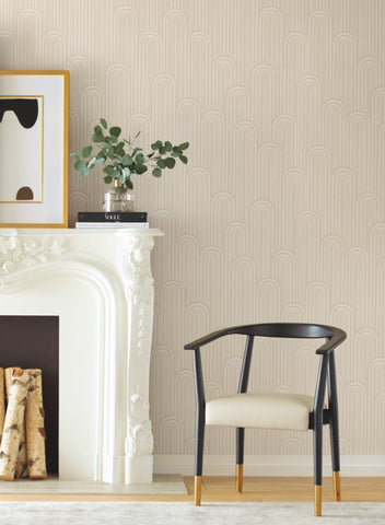 Speakeasy Wallpaper from the Deco Collection by Antonina Vella for York Wallcoverings