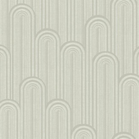 Speakeasy Wallpaper in Pearlescent Beige from the Deco Collection by Antonina Vella for York Wallcoverings