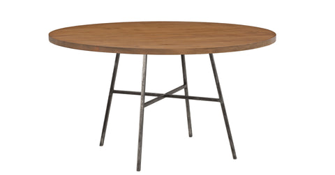 Spencer Round Dining Table in Almond design by Redford House