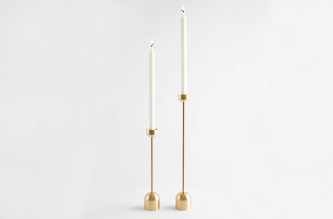 Dome Spindle Candle Holder in Various Sizes