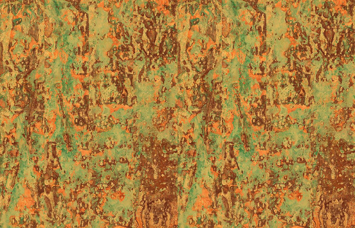 Spoiled Copper Metallic Wallpaper design by Piet Hein Eek for NLXL ...