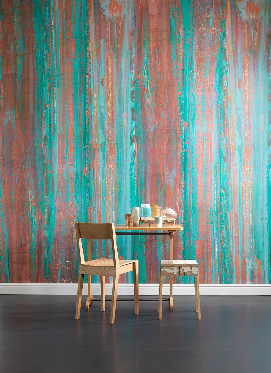 Spoiled Copper Wallpaper design by Piet Hein Eek for NLXL Lab ...