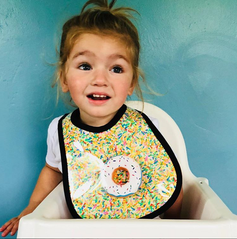 Sprinkles Baby Bib by Mini Maniacs