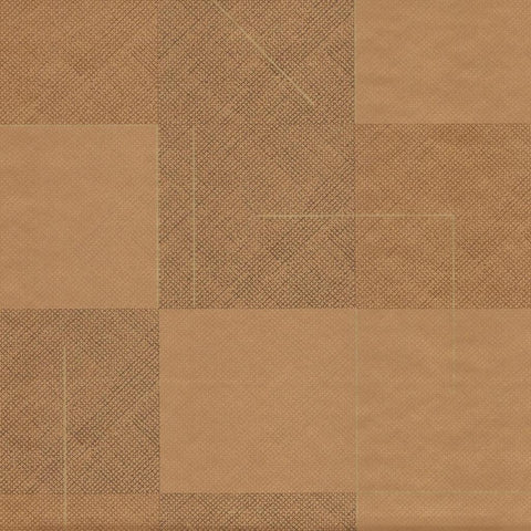 Squares Wallpaper in Terracotta by Hawkins New York