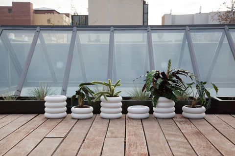 Stacking Planter in Two Sizes design by Areaware