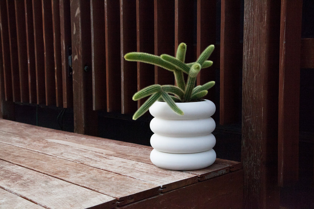 Tall Stacking Planter design by Areaware