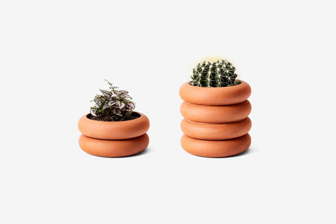 Terracotta Stacking Planter by Areaware