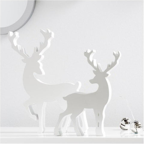 Stag Resin Profile Decor Statue