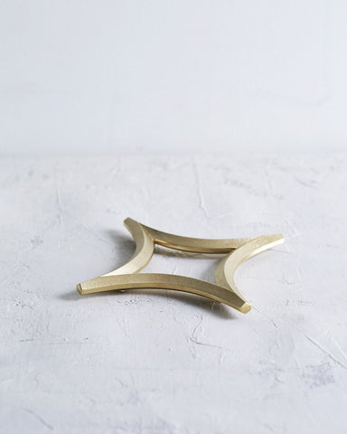 Brass Trivets by Futagami