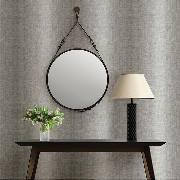 Stardust Ombre Wallpaper in Grey from the Moonlight Collection by Brewster Home Fashions