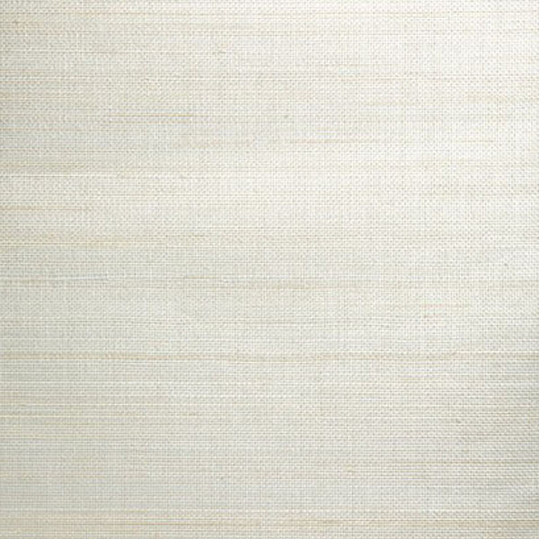 Sample Stelios Grey Grasscloth Wallpaper from the Jade Collection by Brewster Home Fashions