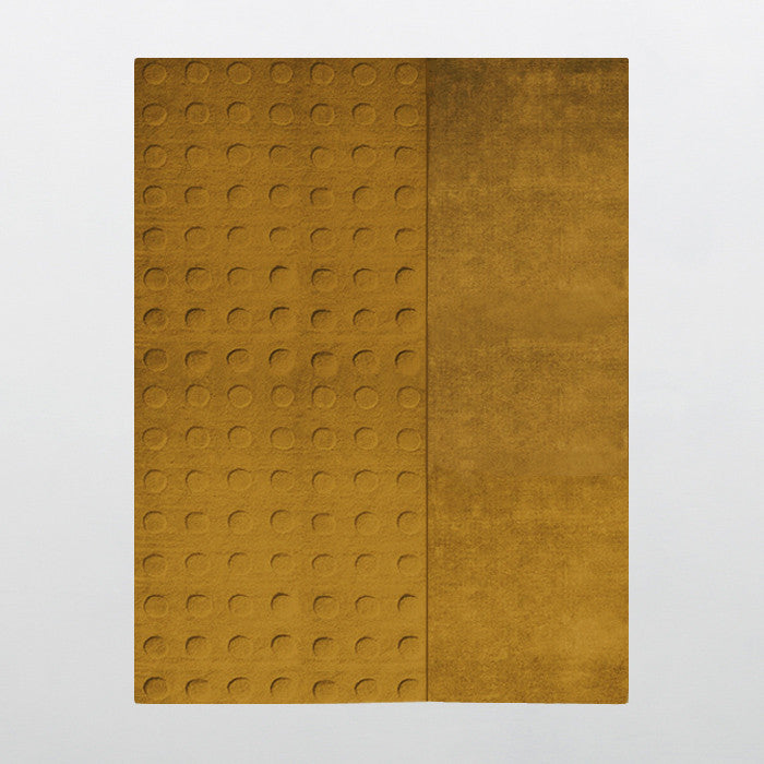 Stockholm Hornstull Carved Collection 100% Wool Rug in Assorted Colors design by Second Studio