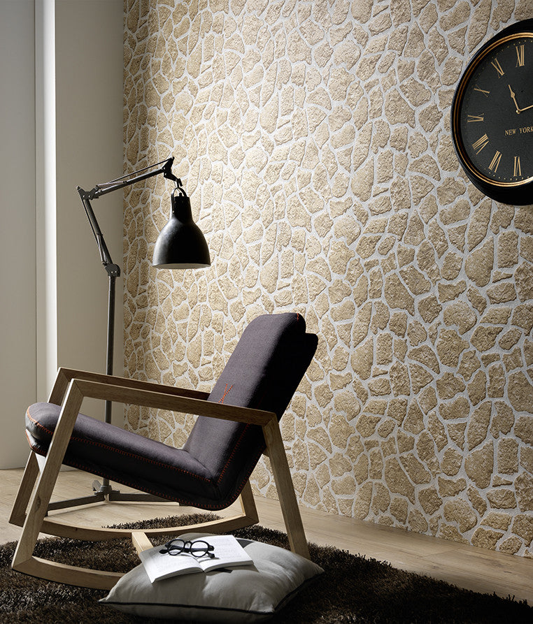 Stone Wallpaper design by BD Wall