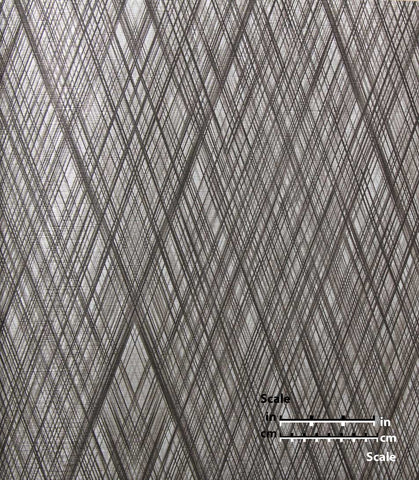 Striated Diamond Wallpaper from the Desire Collection by Burke Decor
