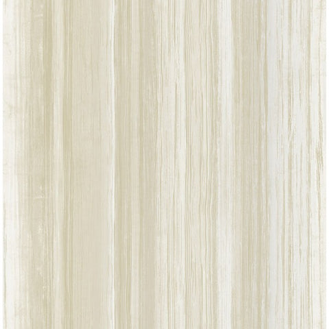 Stripe Wallpaper in Tan from the French Impressionist Collection by Seabrook Wallcoverings