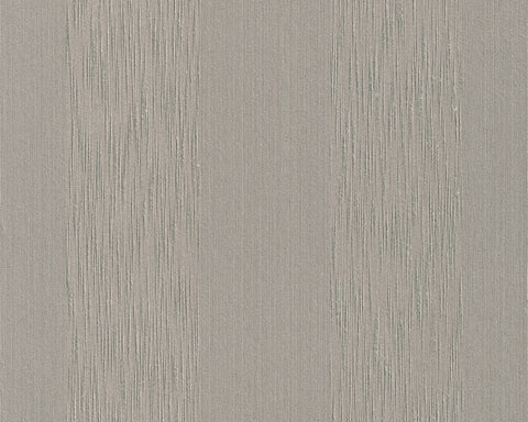 Stripes Faux Fabric Wallpaper in Grey design by BD Wall