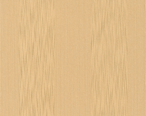 Stripes Faux Fabric Wallpaper in Yellows design by BD Wall