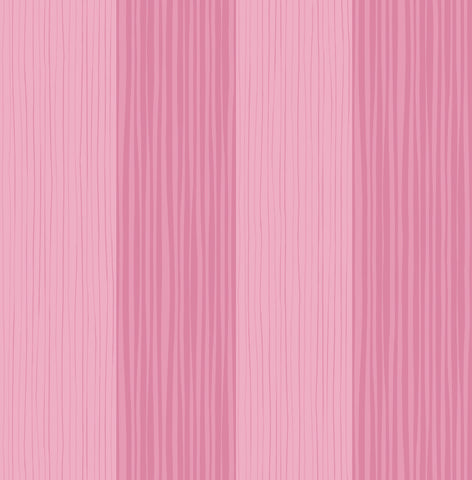 Stripes Wallpaper in Bubblegum from the Day Dreamers Collection by Seabrook Wallcoverings
