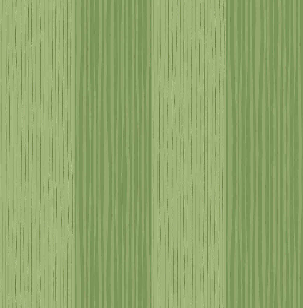 Stripes Wallpaper in Green from the Day Dreamers Collection by Seabrook Wallcoverings
