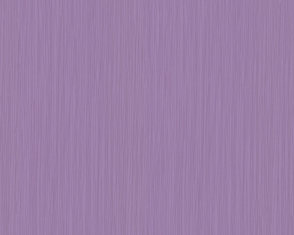 Sample Stripes Wallpaper in Lilac design by BD Wall