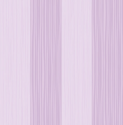 Stripes Wallpaper in Lilac from the Day Dreamers Collection by Seabrook Wallcoverings