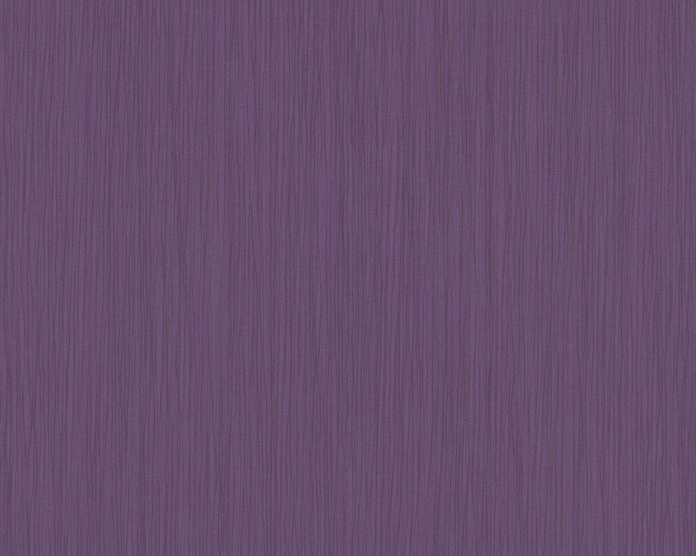 Stripes Wallpaper in Violet design by BD Wall